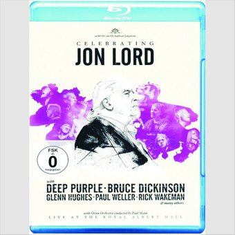 Jon Lord - Celebrating Jon Lord (Blu-ray) на DVD диске Основное Фото №1