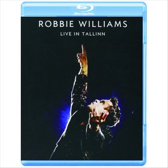 Robbie Williams - Live in Tallinn на Blu-ray диске Основное Фото №1