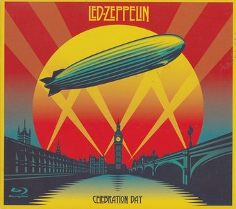 LED ZEPPELIN - CELEBRATION DAY (2CD+BLU-RAY VERSION CD PACKAGING) на BLU-RAY диске Основное Фото №1