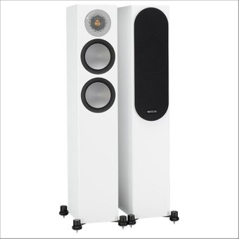 Напольная акустика Monitor Audio Silver Series 200 Satin White Основное Фото №1