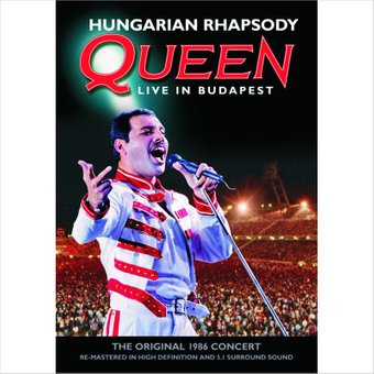 Queen - Hungarian Rhapsody: Live in Budapest (Blu-ray) на DVD диске Основное Фото №1