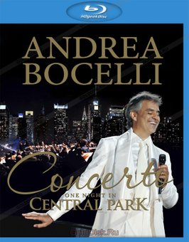 ANDREA BOCELLI - CONCERTO: ONE NIGHT IN CENTRAL PARK на BLU-RAY диске Основное Фото №1