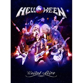 HELLOWEEN - United Alive (2xBluRay Digibook) на BLU-RAY диске Основное Фото №1