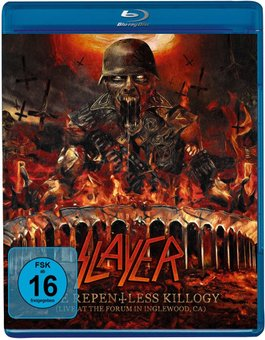 SLAYER - THE REPENTLESS KILLOGY LIVE (SHOW ONLY) на BLU-RAY диске Основное Фото №1