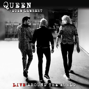 QUEEN + ADAM LAMBERT - LIVE AROUND THE WORLD (CD+BLU-RAY) на BLU-RAY диске Основное Фото №1