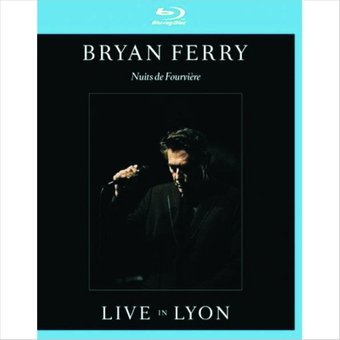 Bryan Ferry - Live in Lyon (Blu-ray CD) на DVD диске Основное Фото №1