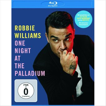 Robbie Williams - One Night at the Palladium (Blu-ray) на DVD диске Основное Фото №1